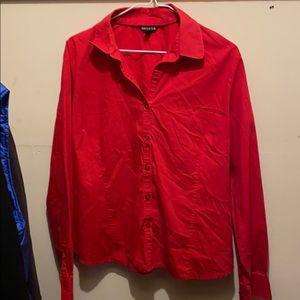 George Red Dress Shirt